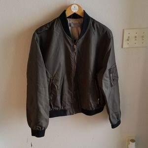 Zara Basic Outerwear Olive Jacket